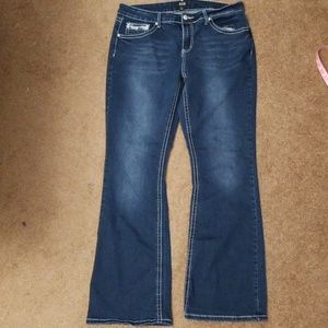 Ana jeans with bling pockets